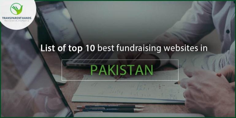 List of Top 10 Fundraising Websites in Pakistan