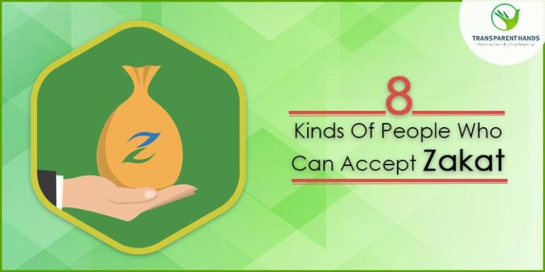 8 Kinds of People Who Can Accept Zakat
