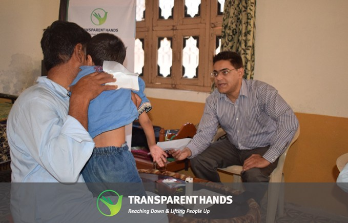 Dr. Ahmed fawad checking doctor