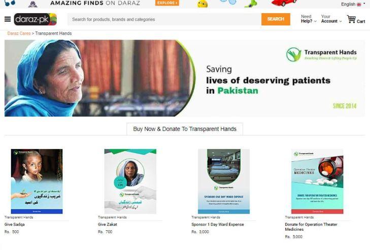 daraz.pk offering