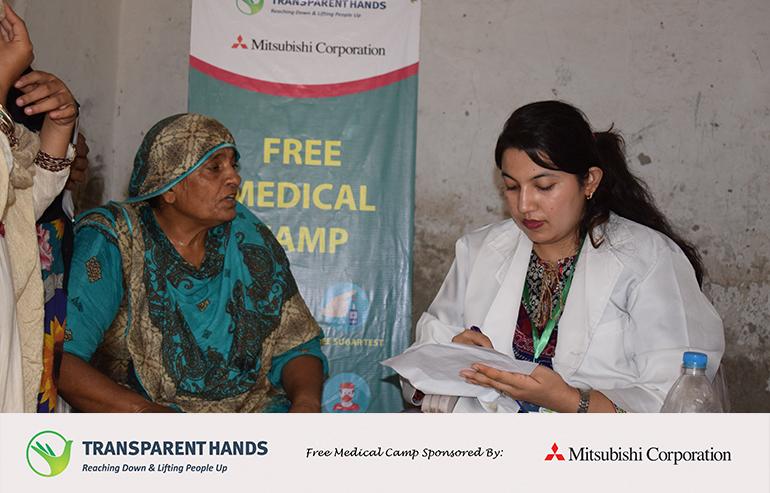 Medical Camp in Okara