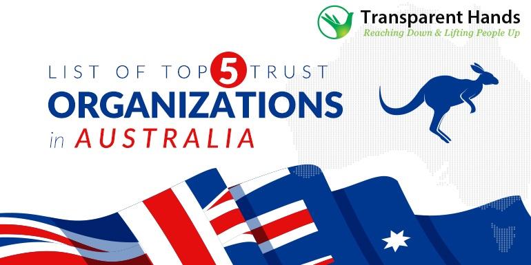 List of Top 5 Trust Organizations in Australia