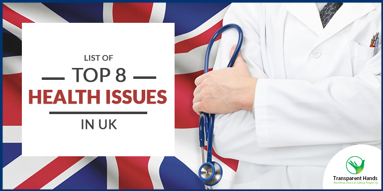 top 8 health issues in UK