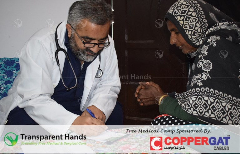 Free Medical Camp in Jhang sponsored by Coppergat Cables and Rotary Club of Lahore Garrison