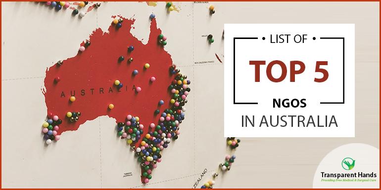 List of Top 5 NGO's in Australia
