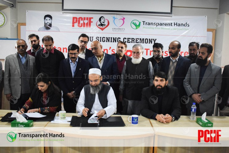 mou signing between Transparent Hands  with PCHF