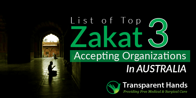 List of Top 3 Zakat Accepting Organizations in Australia