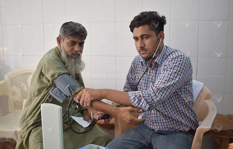 Free Medical Camp in Lahore by Transparent Hands