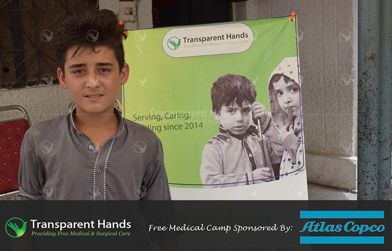 Free Medical Camp by Transparent Hands and Atlas Copco