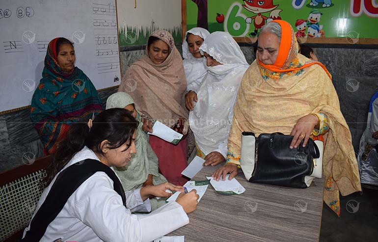 Medical camp at Chunian Kasur, pakistan