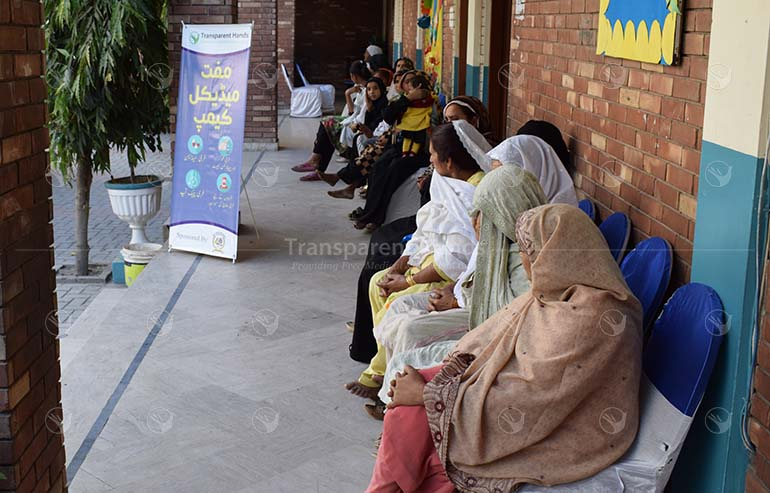 free medical camp in Wazirabad of 350+ patients