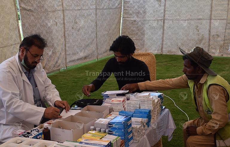 Medical camp at Jhang