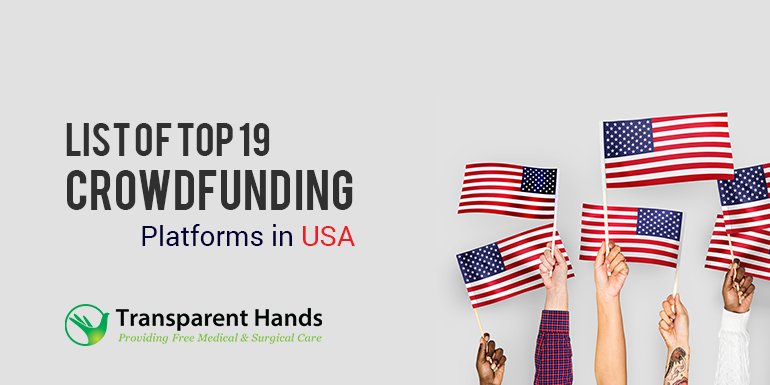 List of Top 19 Crowdfunding Platforms in USA