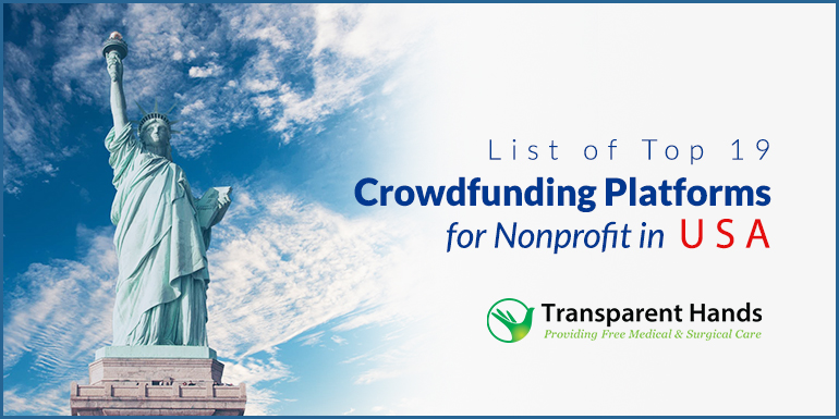 List of Top 19 Crowdfunding Platforms for Nonprofit in USA