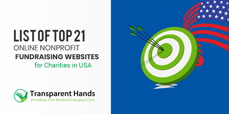 List of Top 21 Online Nonprofit Fundraising Websites for Charities in USA