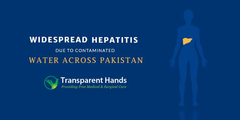 Widespread Hepatitis Due to Contaminated Water Across Pakistan