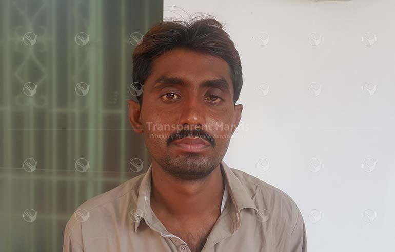 Muhammad Amir pre op picture