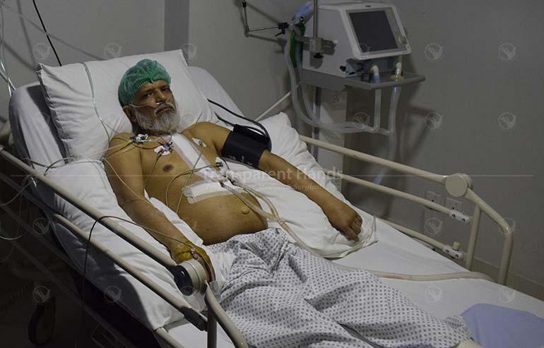 Muhammad Parvaiz's heart surgery