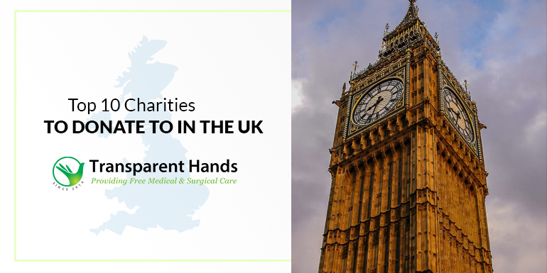 top 10 Charities to Donate to in the UK