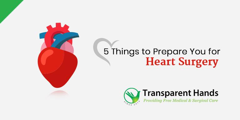 Prepare for Heart Surgery