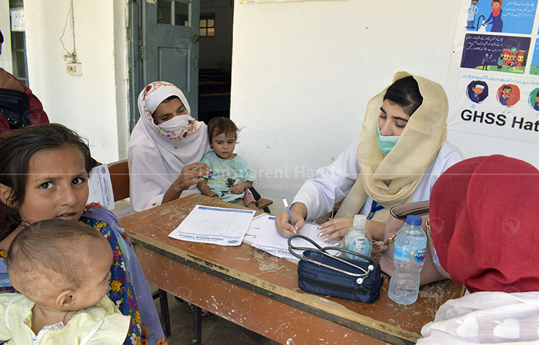 Medical Camp in Mardan