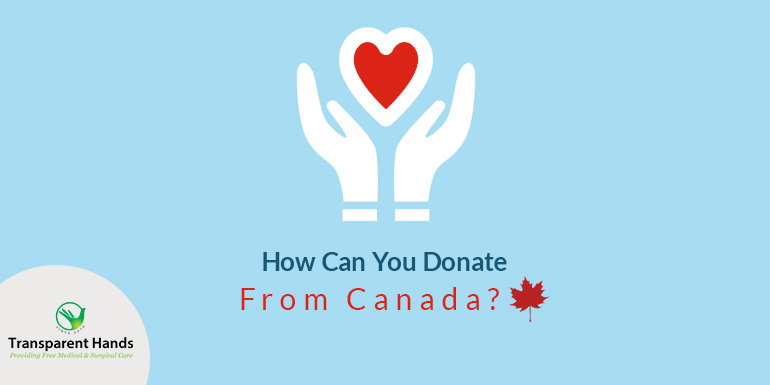 How Can You Donate From Canada