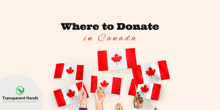 Where to Donate in Canada?