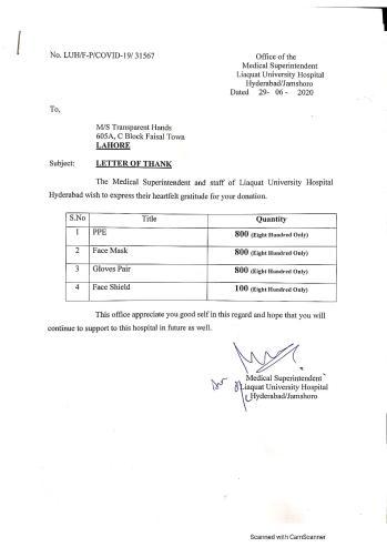 Liaquat University Hospital, Hyderabad
