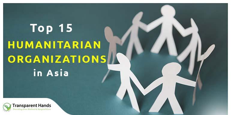 Humanitarian Organizations in Asia