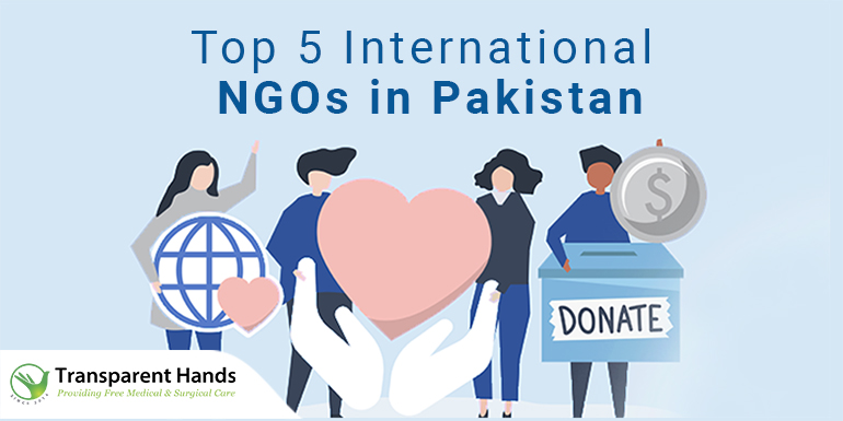 International NGOs in Pakistan