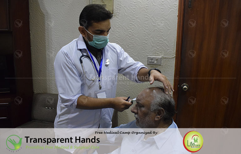 Medical Camp at Lahore Press Club
