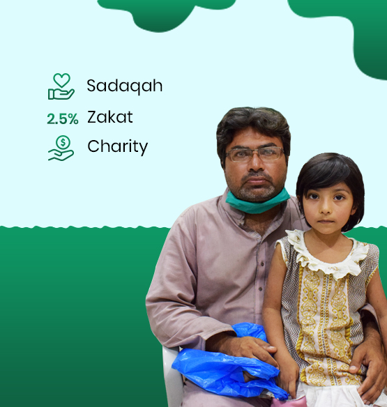 homepage banner of father and her daughter