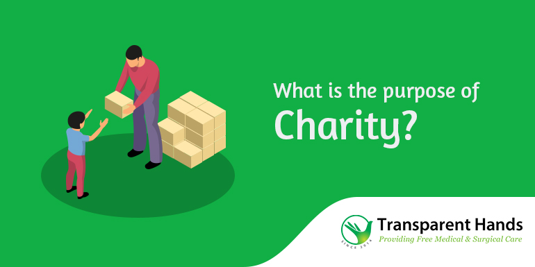 What is the purpose of Charity?