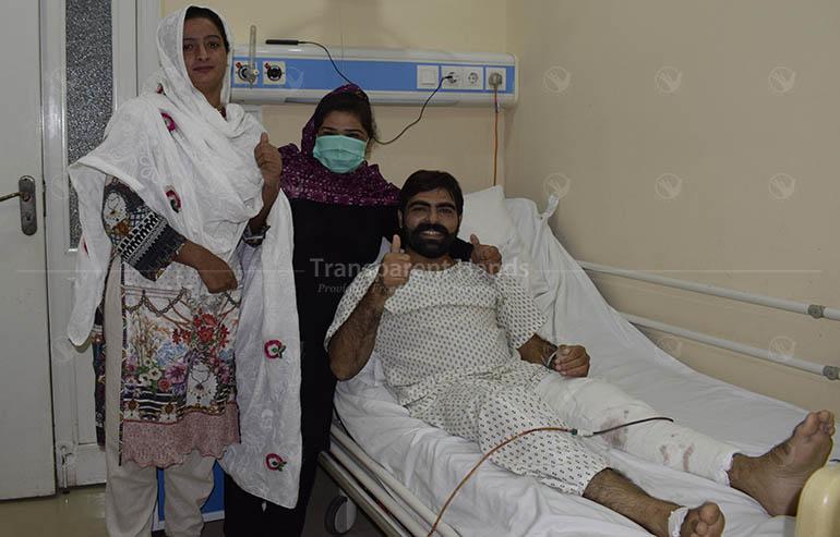 knee surgery of Mubashir Ahmad