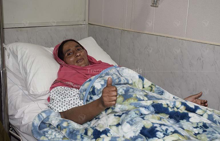 thyroid surgery of Muniraan