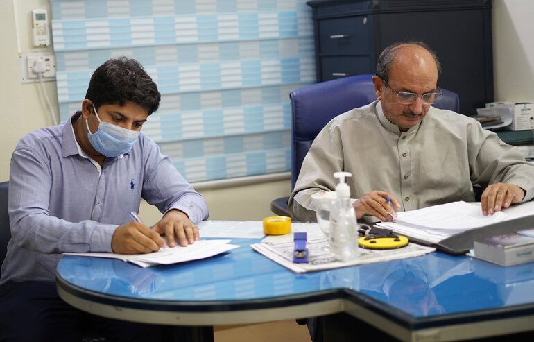 Mou signing with City Hospital, Gujrat