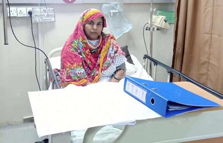Naseema Begum's Angioplasty