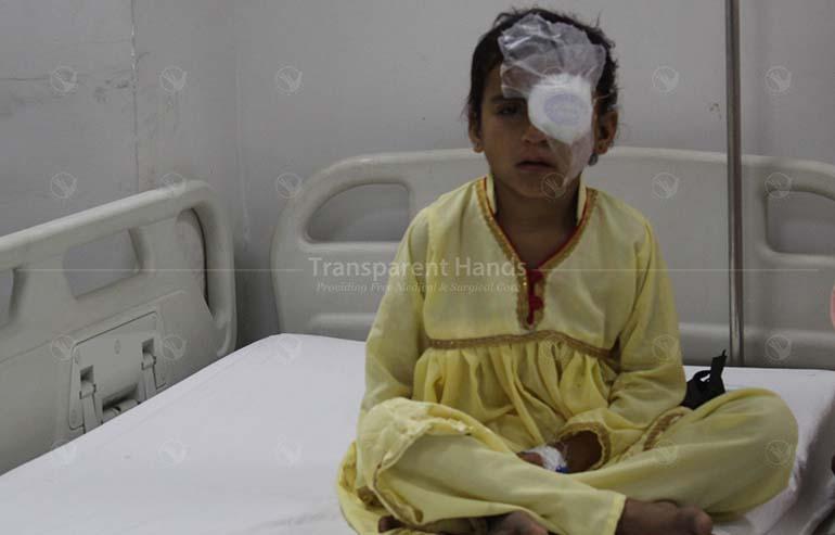 eyesight correction surgery of Ayesha