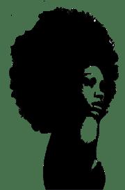 afro hair free transparent