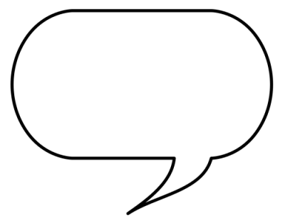 Download SPEECH BUBBLE Free PNG transparent image and clipart