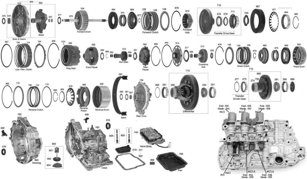 medium resolution of trans parts online 4f27e 4f27e transmission parts ford transmission diagram automatic transmission 4f27e