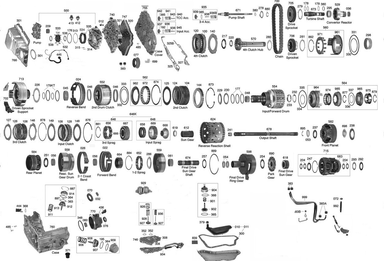 hight resolution of trans parts online 4t60e 4t60e transmission parts 4l60e parts diagram 4t60e parts diagram