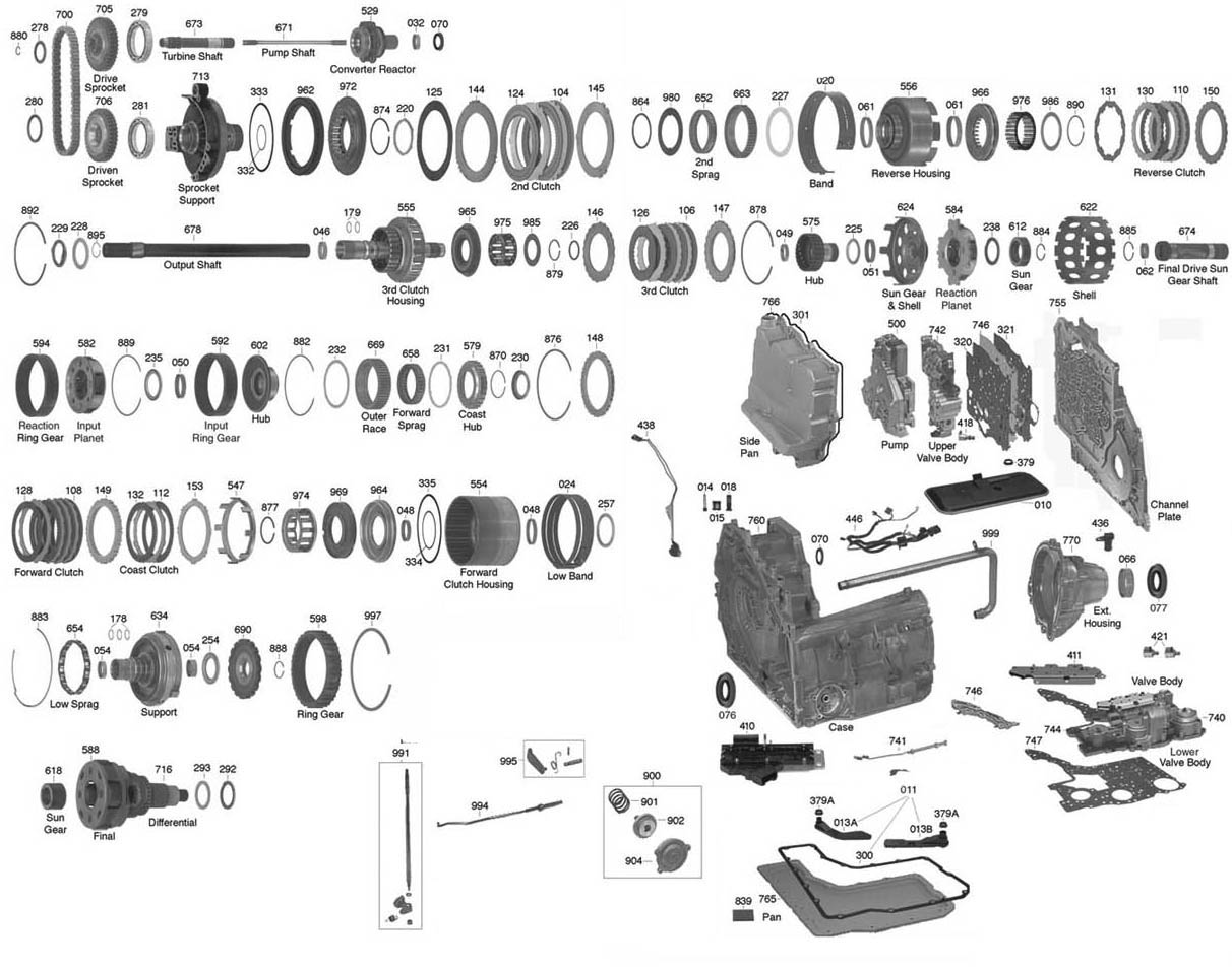 Service manual [Exploded View Of 2005 Pontiac Aztek Manual