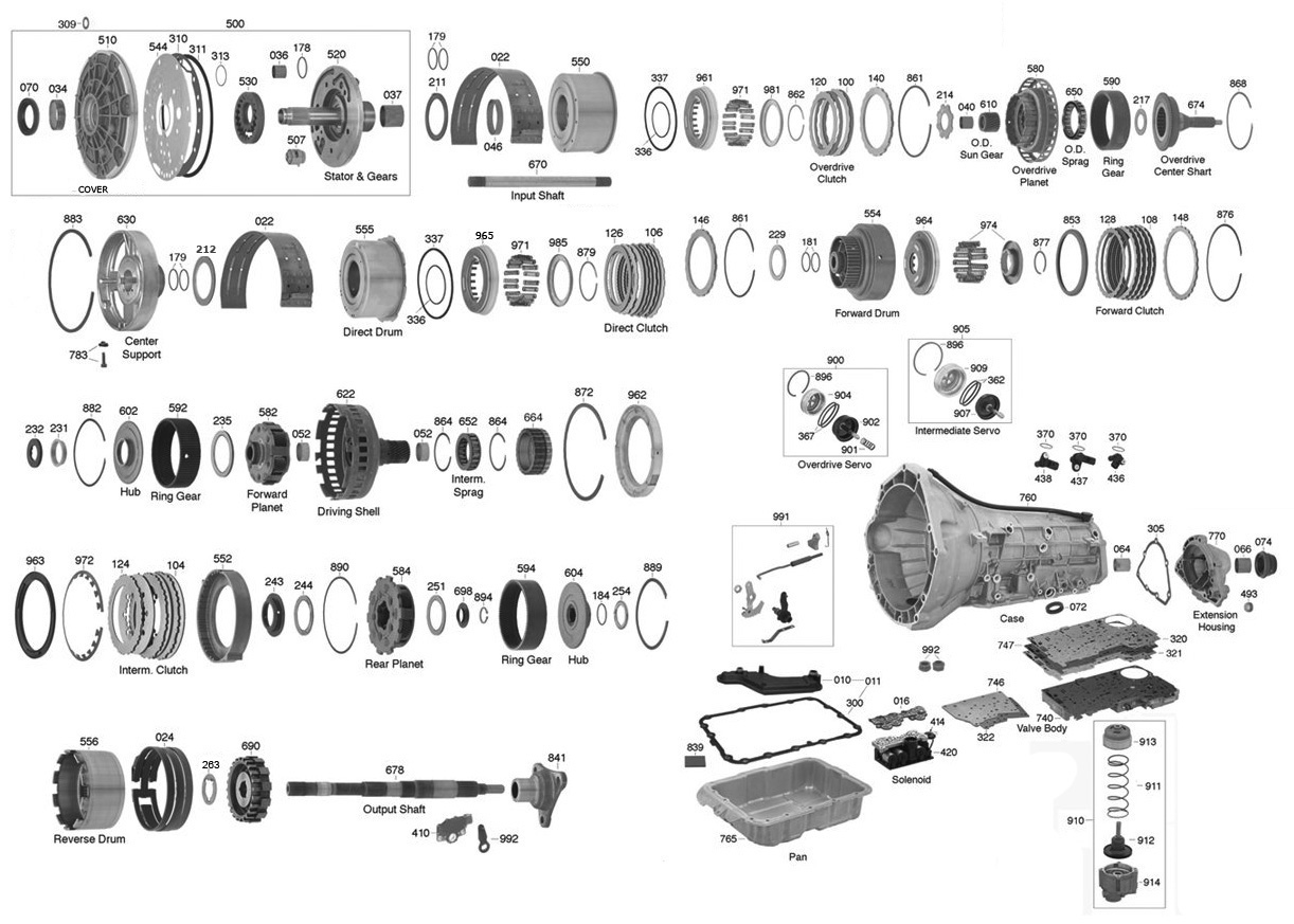 Ford 4r100 Wiring Diagram