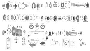 727 Torqueflite Transmission Diagram   WIRING DIAGRAM