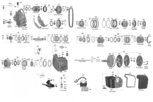 small resolution of ford taurus custom moreover ford cd4e transmission diagram also 99 cd4e wiring diagram