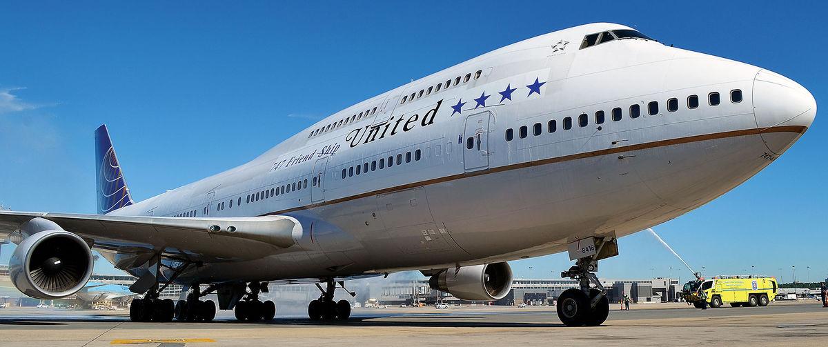 Resultado de imagen para United Boeing 747
