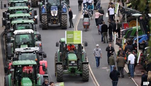 transport online ook in duitsland ernstige verkeershinder door boerenprotest