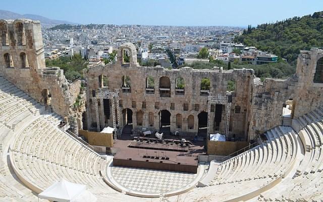 Teatro de Dionísio em Atenas