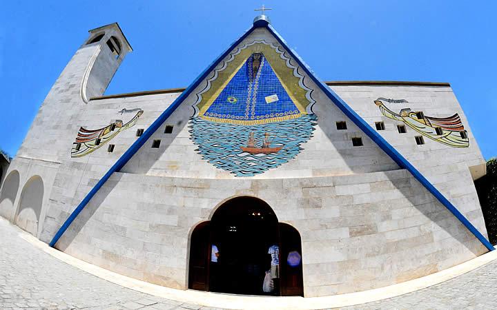 Fuera de la Nossa Senhora da Conceição Aparecida - Turismo religioso en Salvador